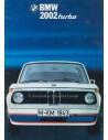 1974 BMW 2002 TURBO BROCHURE NEDERLANDS