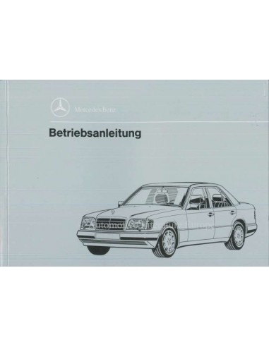 1993 MERCEDES BENZ E CLASS OWNERS MANUAL GERMAN