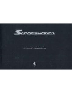 2005 FERRARI SUPERAMERICA HARDCOVER PROSPEKT 'NANTUCKET' 478/559