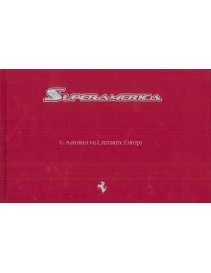 2005 FERRARI SUPERAMERICA HARDCOVER BROCHURE MARTHA'S VINEYARD 317/559