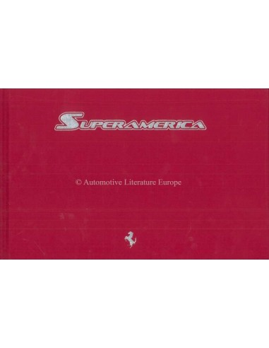 2005 FERRARI SUPERAMERICA HARDCOVER BROCHURE 'MARTHA'S VINEYARD' 317/559
