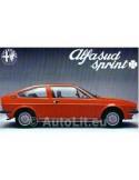 1976 ALFA ROMEO SPRINT Q BROCHURE NEDERLANDS