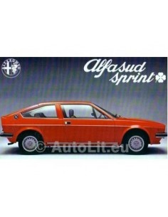 1976 ALFA ROMEO SPRINT Q BROCHURE Dutch
