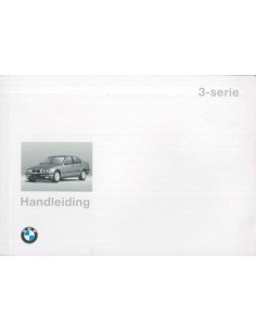 1995 BMW 3 SERIES OWNERS MANUAL DUTCH