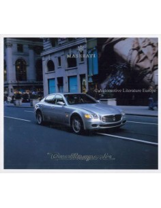 2004 MASERATI QUATTROPORTE V BROCHURE ENGLISH