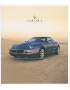 2003 MASERATI COUPE BROCHURE FRANS