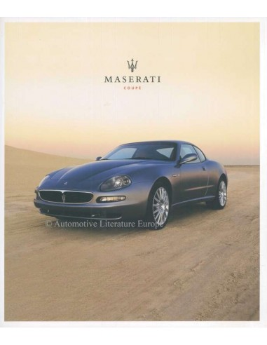 2003 MASERATI COUPE BROCHURE FRENCH