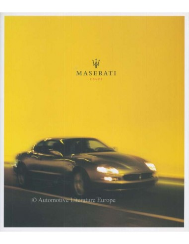 2003 MASERATI COUPE BROCHURE ENGLISH