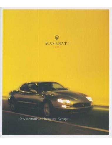 2003 MASERATI COUPE PROSPEKT ENGLISCH