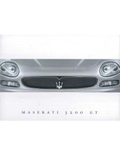 2000 MASERATI 3200 GT BROCHURE ENGLISH