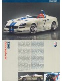 2001 MASERATI 320S CONCEPT-CAR BROCHURE ITALIAN ENGLISH