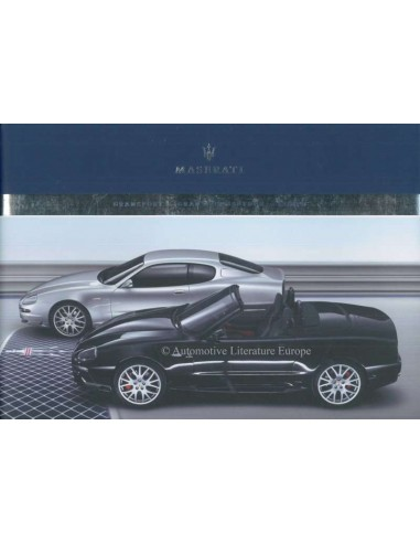2006 MASERATI GRANSPORT SPYDER COUPE BROCHURE DUITS