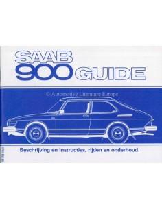 1979 SAAB 900 OWNERS MANUAL DUTCH