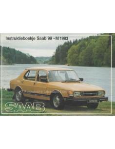 1983 SAAB 99 BETRIEBSANLEITUNG NIEDERLÄNDISCH
