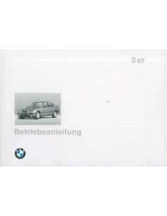1994 BMW 3 SERIES OWNERS MANUAL GERMAN