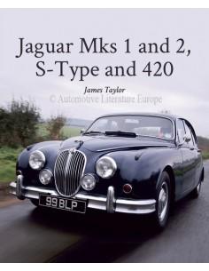 JAGUAR MKS 1 AND 2, S-TYPE AND 420 - JAMES TAYLOR BOEK