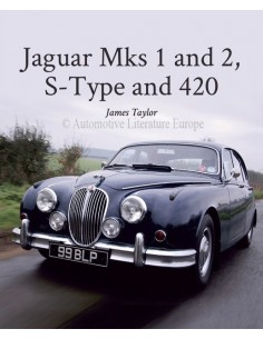 JAGUAR MKS 1 AND 2, S-TYPE AND 420 - JAMES TAYLOR BOOK
