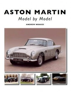 ASTON MARTIN - MODEL BY MODEL - ANDREW NOAKES BOEK