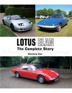 LOTUS ELAN - THE COMPLETE STORY - MATTHEW VALE BOOK