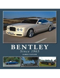 BENTLEY - SINCE 1965 - JAMES TAYLOR BOOK