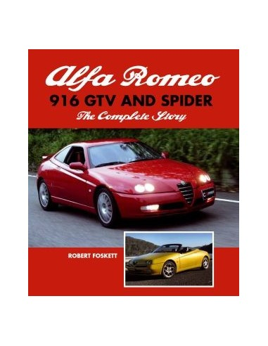 alfa romeo 916 gtv and spider the complete story robert foske rh autolit eu alfa romeo spider 916 owners manual Alfa Romeo Spider 916 Petrol Filters