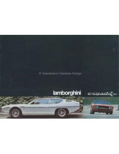 1971 LAMBORGHINI ESPADA 400 GT BROCHURE