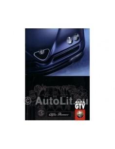 1998 ALFA ROMEO GTV BROCHURE DUITS
