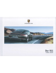 2018 PORSCHE 911 CARRERA TARGA HARDCOVER BROCHURE GERMAN