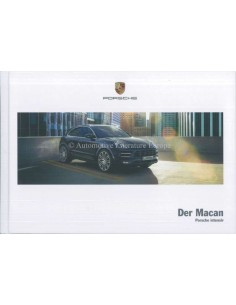 2018 PORSCHE MACAN HARDCOVER BROCHURE GERMAN