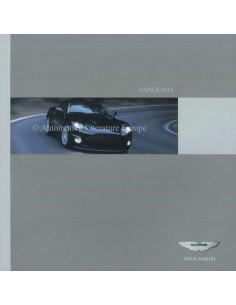 2006 ASTON MARTIN VANQUISH S BROCHURE GERMAN