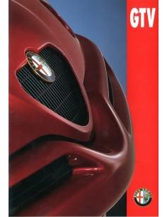 1997 ALFA ROMEO GTV PROSPEKT NIEDERLANDISCH