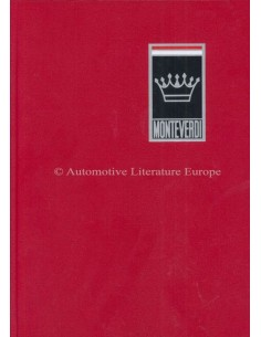 MONTEVERDI - GESCHICHTE EINER SCHWEIZER AUTOMARKE - ROGER GLOOR & CARL L. WAGNER BOEK