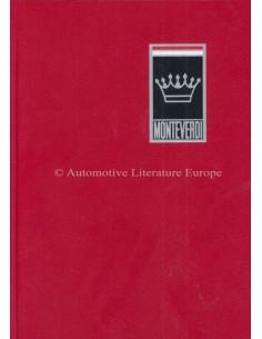 MONTEVERDI - GESCHICHTE EINER SCHWEIZER AUTOMARKE - ROGER GLOOR & CARL L. WAGNER BOOK