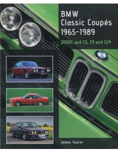 BMW - CLASSIC COUPÉS - 1965-1989 - JAMES TAYLOR BOOK