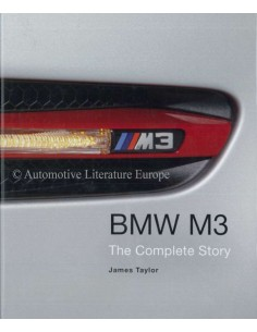 BMW - M3 - THE COMPLETE STORY - JAMES TAYLOR BOEK