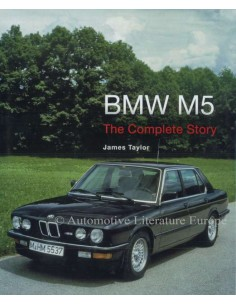 BMW - M5 - THE COMPLETE STORY - JAMES TAYLOR BUCH
