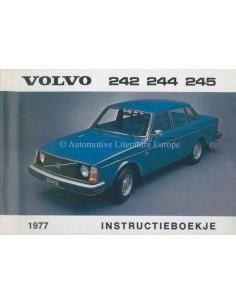 1977 VOLVO 242 244 245 INSTRUCTIEBOEKJE NEDERLANDS