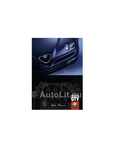 1999 ALFA ROMEO GTV BROCHURE DUITS