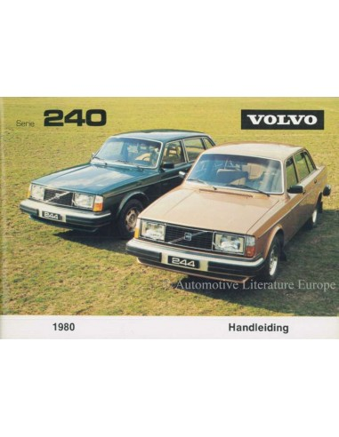 1980 VOLVO 240 INSTRUCTIEBOEKJE NEDERLANDS