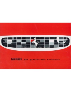 1959 FERRARI 250 GRANTURISMO BERLINETTA BROCHURE ITALIAANS