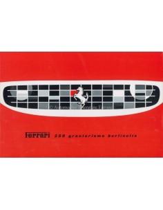 1959 FERRARI 250 GRANTURISMO BERLINETTA BROCHURE ITALIAN
