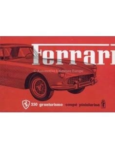 1959 FERRARI 250 GRANTURISMO COUPE PININFARINA BROCHURE M167
