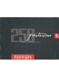 1958 FERRARI 250 GRANTURISMO BROCHURE GERMAN