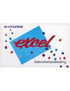 1995 HYUNDAI EXCEL INSTRUCTIEBOEKJE NEDERLANDS