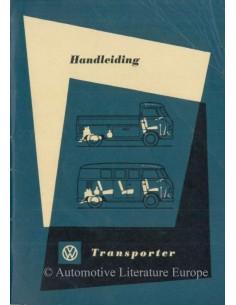 1961 VOLKSWAGEN T1 TRANSPORTER BETRIEBSANLEITUNG NIEDERLÄNDISCH