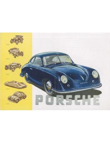 1949 PORSCHE 356 BROCHURE GERMAN