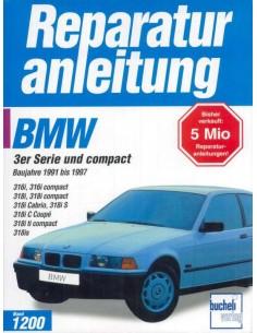 1991 - 1997 BMW 3 SERIES PETROL BUCHELI VERLAG WORKSHOP MANUAL GERMAN