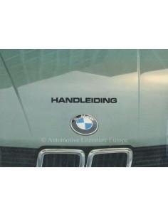 1981 BMW 5ER BETRIEBSANLEITUNG NIEDERLÄNDISCH