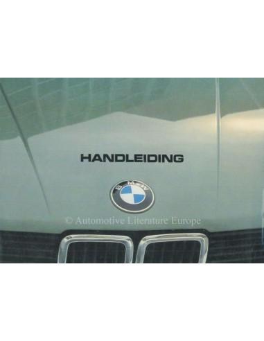 1981 BMW 5 SERIES OWNERS MANUAL DUTCH