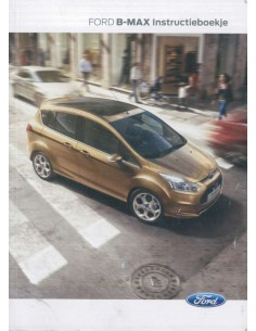 2015 FORD B-MAX OWNERS MANUAL DUTCH